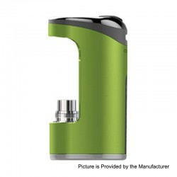 Authentic Justfog Compact 14 12W 1500mAh Battery Mod - Green