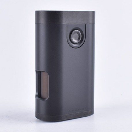 ShenRay Armor Style BF Squonk Mechanical Box Mod Updated Version w/ Chip - Black, POM + Stainless Steel + Brass, 1 x 18650