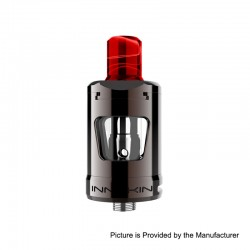 Authentic Innokin Zlide Sub Ohm Tank Clearomizer - Gun Metal, 2ml, 0.48 Ohm / 1.6 Ohm, 22.7mm Diameter