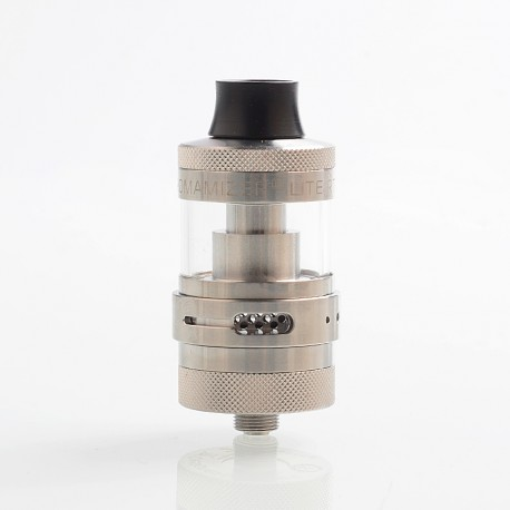 Authentic Steam Crave Aromamizer Lite RTA 23mm Rebuildable Tank Atomizer - Silver, 3.5 / 4.5ml, 23mm Diameter