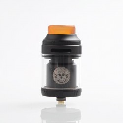 [Ships from Germany] Authentic GeekVape Zeus X RTA Rebuildable Tank Atomizer - Black, Stainless Steel, 4.5ml, 25mm Diameter