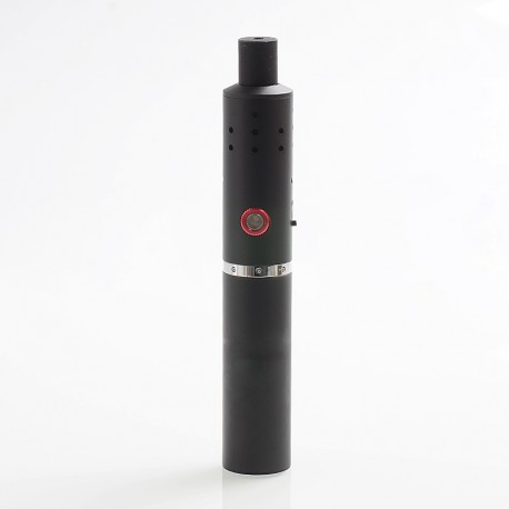 Authentic CigGo FyHit ECO S 2200mAh Dry Herb Wax Vaporizer - Black, Aluminum Alloy, 160~210'C