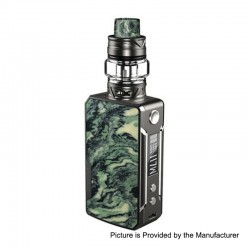 Authentic Voopoo Drag Mini 117W 4400mAh TC VW Box Mod + UForce T2 Tank Kit - Platinum-Atrovirens, 5~117W, 0.6 / 0.13 Ohm, 5ml