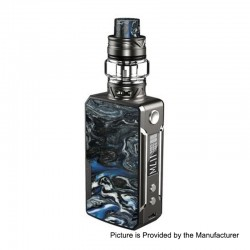 Authentic Voopoo Drag Mini 117W 4400mAh TC VW Box Mod + UForce T2 Tank Kit - Platinum-Phthalo, 5~117W, 0.6 / 0.13 Ohm, 5ml