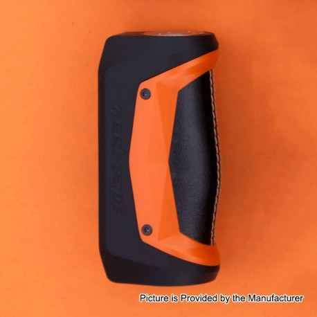 Authentic GeekVape Aegis Solo 100W TC VW Variable Wattage Box Mod - Orange, 5~100W, 1 x 18650