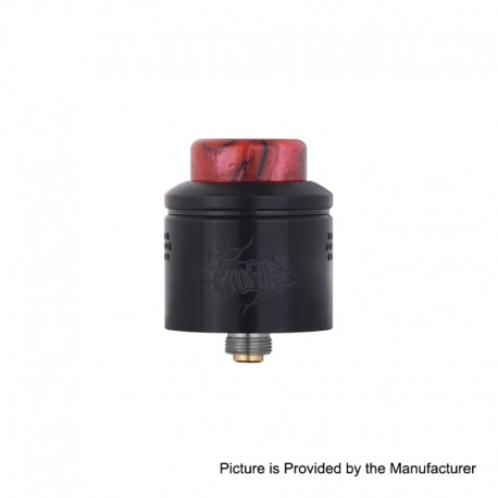 [Ships from Germany2] Authentic Wotofo Profile RDA Rebuildable Dripping Atomizer w/ BF Pin - Black, SS, 24mm Diameter