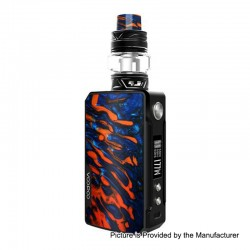 [Ships from Germany2] Authentic Voopoo Drag 2 177W TC VW Box Mod + UForce T2 Tank Kit - B-Flame, 2 x 18650, 5~177W, 5ml, 28mm