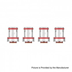 [Ships from Germany2] Authentic Uwell Replacement FeCrAl UN2 Coil for Crown IV Tank - 0.23ohm (60~70W) (4 PCS)