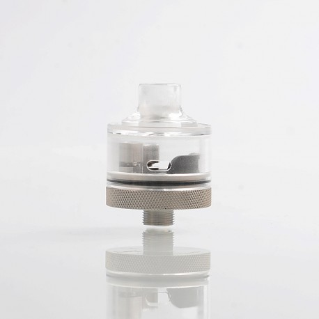 Evade Hydro Style RDA Rebuildable Dripping Atomizer w/ BF Pin - Transparent, PC + Stainless Steel, 22mm Diameter
