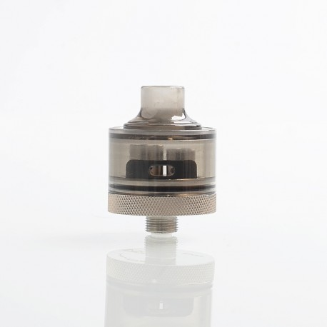 Evade Hydro Style RDA Rebuildable Dripping Atomizer w/ BF Pin - Grey, PC + Stainless Steel, 22mm Diameter