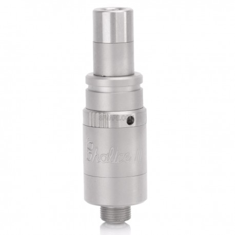 Chalice V3 Style RDA Rebuildable Dripping Atomizer - Silver, Stainless Steel, 13.9mm Diameter