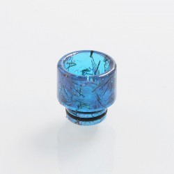 510 Replacement Drip Tip for RDA / RTA / Sub Ohm Tank Atomizer - Blue, Resin, 12.6mm