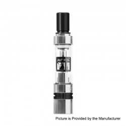 Authentic Justfog Q14 Tank Clearomizer - Silver, 1.8ml, 1.6 Ohm, 14mm Diameter