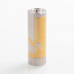 Vicious A Phenom Style Mechanical Tube Mod - Silver, Stainless Steel, 1 x 18350