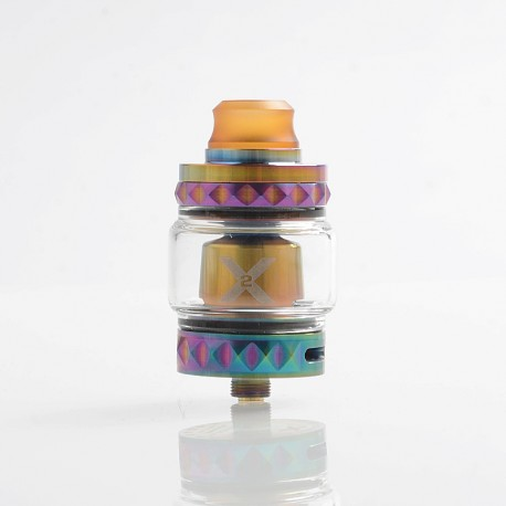 Authentic Vapemons X2 Mesh Sub Ohm Tank Clearomizer - Rainbow, 0.15ohm, 5ml, 24mm Diameter