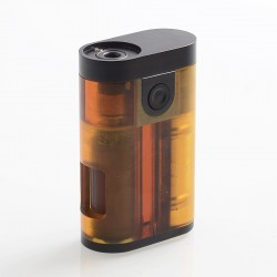 ShenRay Armor Style BF Squonk Mechanical Box Mod Updated Version w/ Chip - Ultem, PEI + Stainless Steel + Brass, 1 x 18650