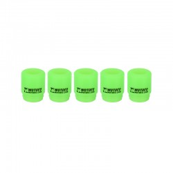 Authentic Wotofo Disposable 810 Drip Tip for RDA / RTA / Sub Ohm Tank Atomizer - Green, Silicone (5 PCS)
