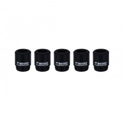 Authentic Wotofo Disposable 810 Drip Tip for RDA / RTA / Sub Ohm Tank Atomizer - Black, Silicone (5 PCS)