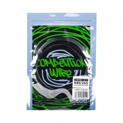 Authentic Wotofo NI80 Competition Heating Resistance Wire - 0.2 Ohm, 26GA (20 Feet / Spool)
