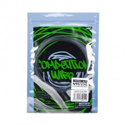 Authentic Wotofo NI90 Competition Heating Resistance Wire - 0.09 Ohm, 23GA (20 Feet / Spool)
