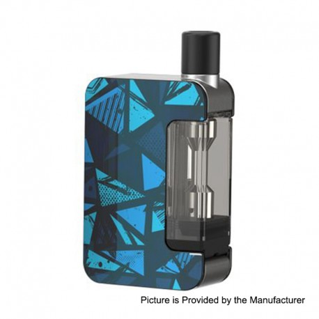 Authentic Joyetech Exceed Grip 1000mAh Pod System Starter Kit - Mystery Blue, 4.5ml, 0.4 Ohm