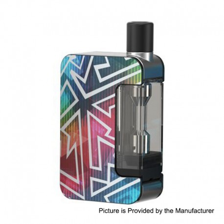 Authentic Joyetech Exceed Grip 1000mAh Pod System Starter Kit - Rainbow Tattoo, 4.5ml, 0.4 Ohm