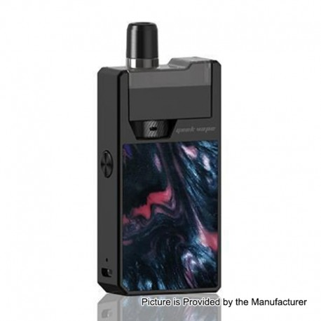 Authentic GeekVape Frenzy 950mAh Pod System Starter Kit - Black Ghost, 2ml, 1.2 Ohm
