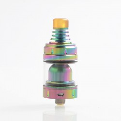 Authentic Vandy Vape Berserker BSKR V1.5 Mini MTL RTA Rebuildable Tank Atomizer - Rainbow, 2.5 / 3.0ml, 22mm Diameter
