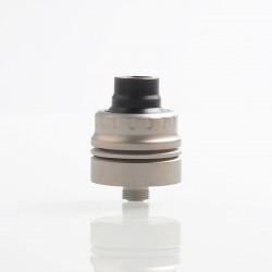 Vapeasy Armor S Style RDA Rebuildable Dripping Atomizer w/ BF Pin - Silver, Titanium Alloy, 22mm Diameter
