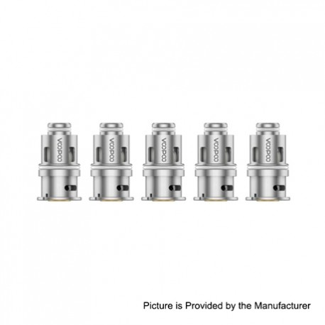 Authentic Voopoo Drag Baby Trio Replacement PnP-M2 Coil Heads - 0.6 Ohm (5 PCS)