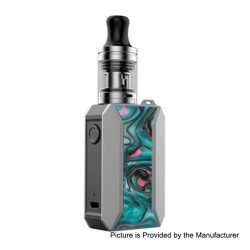 Authentic Voopoo Drag Baby Trio 25W 1500mAh TC VW Variable Wattage Mod Kit - Aurora, 5~25W, 1.8ml, 0.6 / 1.2 Ohm