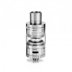 Authentic SMOKTech SMOK Micro TFV4 Sub Ohm Tank Clearomizer - Black, Stainless Steel + Glass, 2.5ml, 0.3 Ohm, 22mm Diameter
