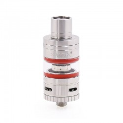 Authentic SMOKTech SMOK Micro TFV4 Sub Ohm Tank Clearomizer - Red + Silver, Stainless Steel + Glass, 2.5ml, 0.3 Ohm, 22mm Dia.