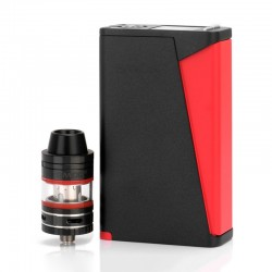 Authentic SMOKTech SMOK H-Priv 220W TC VW Box Mod + Micro TFV4 Kit - Black, 6~220W, 2 x 18650, 2.5 / 3ml