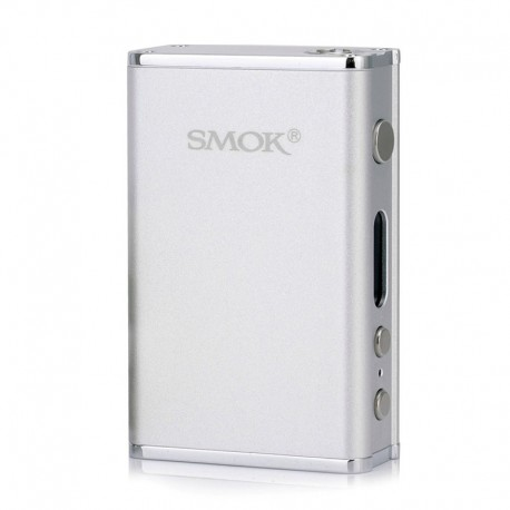Authentic SMOKTech SMOK R80 80W 4400mAh TC VW Variable Wattage Box Mod - Silver, Stainless Steel + Zinc Alloy, 1~80W