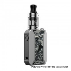 Authentic Voopoo Drag Baby Trio 25W 1500mAh TC VW Variable Wattage Mod Kit - Ink, 5~25W, 1.8ml, 0.6 / 1.2 Ohm