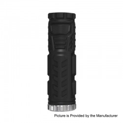 Authentic Vandy Vape Trident IP67 Waterproof Tube Mod - Black, 1 x 18650