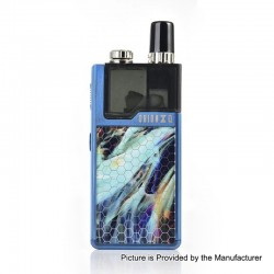 Authentic Lost Vape Orion Q 17W 950mAh Pod System Starter Kit - Blue Aurora, 2ml, 1.0 Ohm