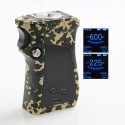 Authentic SMOKTech SMOK Mag 225W TC VW Variable Wattage Mod Right-Handed Edition - Camouflage, 6~225W, 2 x 18650
