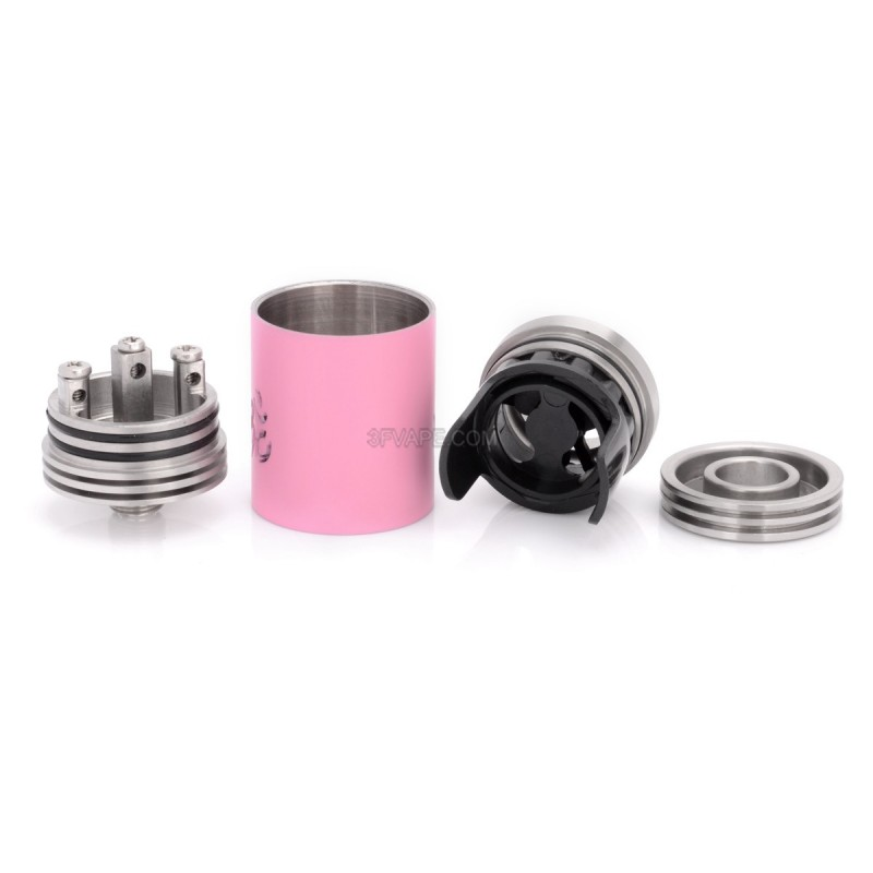 Turbo Style Rda Rebuildable Dripping Atomizer Pink