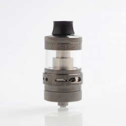 Authentic Steam Crave Aromamizer Lite RTA 23mm Rebuildable Tank Atomizer - Gun Metal, 3.5 / 4.5ml, 23mm Diameter