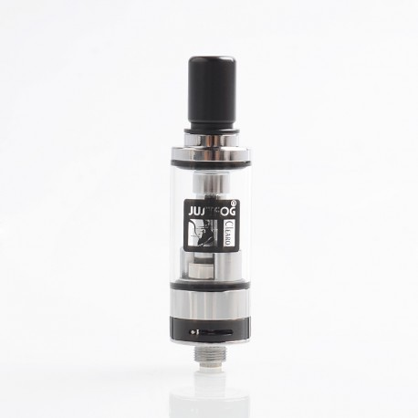 Authentic Justfog Q16 Tank Clearomizer - Silver, 1.9ml, 1.6 Ohm, 16mm Diameter