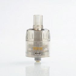Authentic Sikary Vapor Tutu Disposable Sub Ohm Tank Clearomizer - Dark Brown, 2ml, 0.9 Ohm, 24mm Diameter