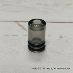 YFTK Replacement Drip Tip for 22mm KF Lite 2019 Style RTA - Black, Acrylic