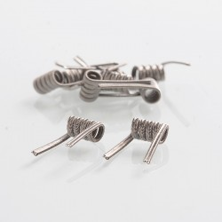 Authentic Wotofo Ni80 Alien Pre-built Coil - 0.22 Ohm, 26GA x 3 + 36GA (10 PCS)