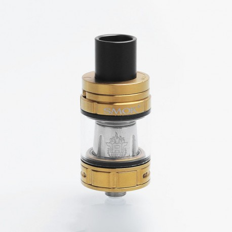 Authentic SMOKTech SMOK TFV8 Baby Sub Ohm Tank Atomizer - Gold, Stainless Steel, 2ml, 22mm Diameter, EU Edition