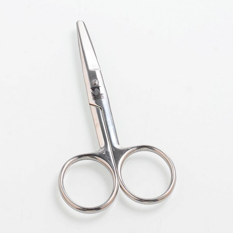 Authentic Wotofo Vape Scissors for DIY Cotton Cutting - Silver, Stainless Steel