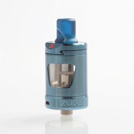 Authentic Innokin Platform Zlide Sub Ohm Tank Clearomizer - Blue, 2ml, 0.48 Ohm / 1.6 Ohm, 22.7mm Diameter
