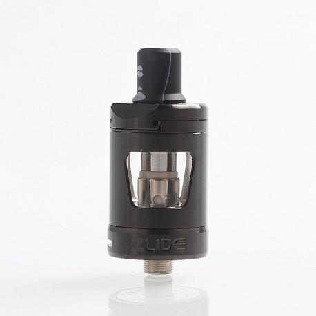 Authentic Innokin Zlide Sub Ohm Tank Clearomizer - Black, 2ml, 0.48 Ohm / 1.6 Ohm, 22.7mm Diameter