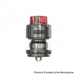 Authentic Vandy Vape Kylin M RTA Rebuildable Tank Atomizer - Gun Metal, 3ml / 4.5ml, 24mm Diameter